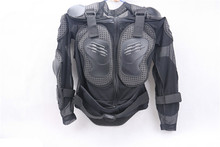 Professional Motorcycle Armor Clothing Leather PU Universal Combinations Black FOX Tactical Armor Suit armadura