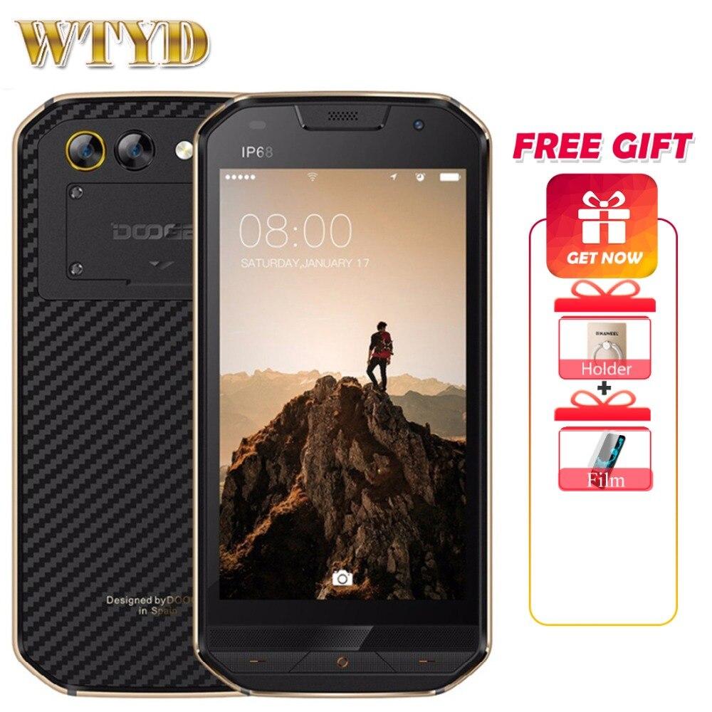 DOOGEE S30 5580mAh Side fingerprint Dual camera 5V 2A 5 0 HD Android 7 0 2GB