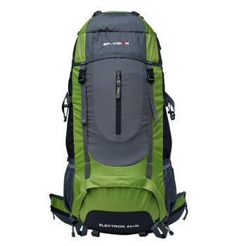 65L Climbing Camping Hill Travel Men Women Outdoor Large Capacity Backpack Waterproof Shoulders Package Sports Trekking Bag