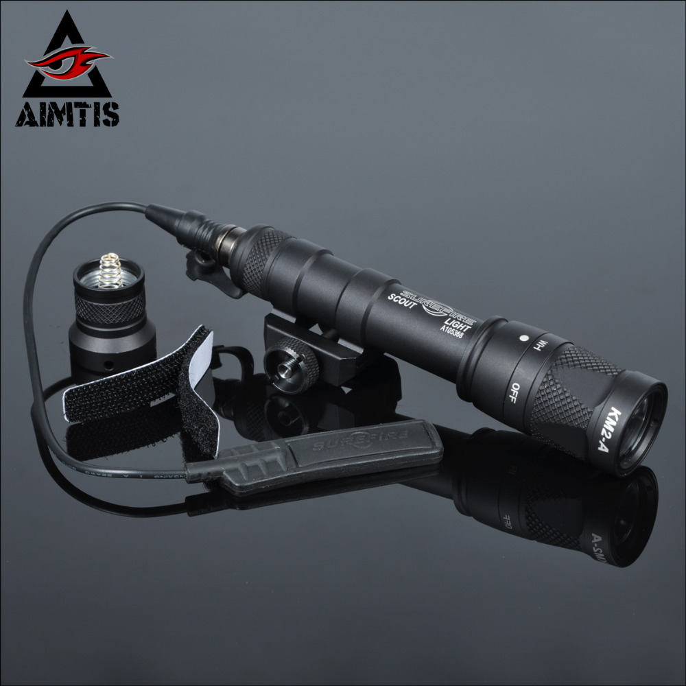 AIMTIS M600V IR Light Scout NV Hunting Night Evolution LED Flashlight Armas Tactical Infrared Weapon Light For Outdoor Sports greenbase tactical m300 m300b mini scout light outdoor rifle hunting flashlight 400 lumen weapon light led lanterna
