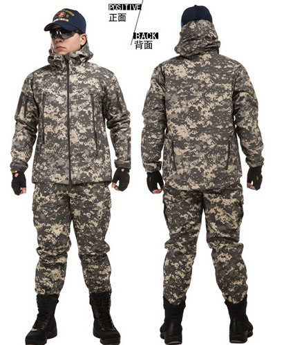 Us Army Military Uniform For Men Camouflage Suit Cotton Suit Outdoors Military Uniform L,XL,XXL