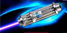 High Power 450nm 200000m 200w SOS Lazer Flashlight Focusable Blue Laser Pointer Burning Paper cannon Light Burn Cigars Hunting