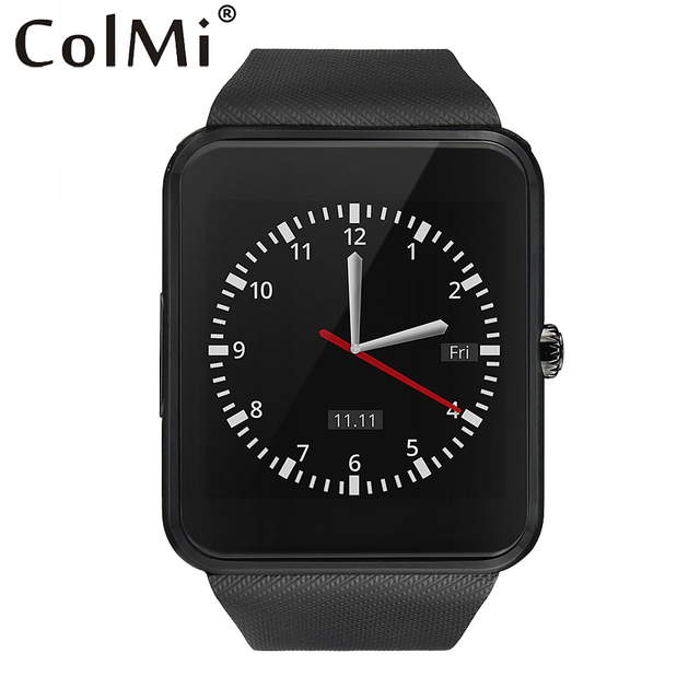 ColMi Smart Watch GT08 Clock With Sim Card Slot Push Message Bluetooth Connectivity Android Phone Smartwatch GT08