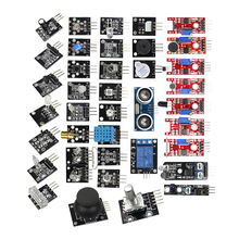 Helpful 37 in 1 For Starters Compatible Sensor Module Kit for arduino Vibration switch Flame Reed Hunt sensor kit