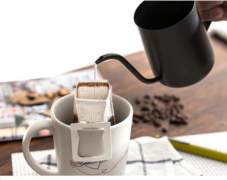 Coffee Tea Kettle Stainless Steel Coffee Drip Kettle Tea Pot Long Mouth Coffee Pot Teapot