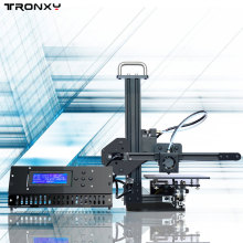 Tronxy X1 Aluminium Structure Size 150*150*150mm DIY 3D Printer Kit Rerap With 1 Roll Free Filament 8GB SD Card As Gift