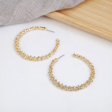 New bohemian earring Mistress gift dangling cc earrings for women 2019 fashion jewelry Trendy golden silver bijouterie