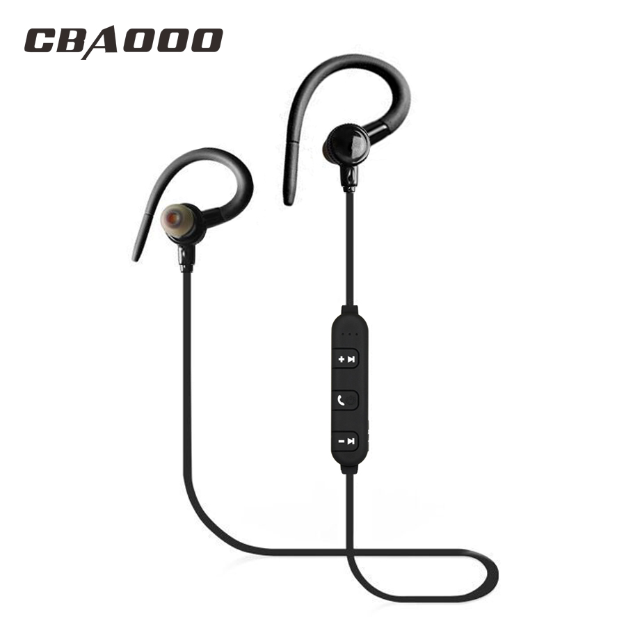 CBAOOO J10 Bass Wireless Headphones Bluetooth Stereo Sport Earphone Bluetooth Headset Earpiece with mic for Phone Xiaomi iPhone цена