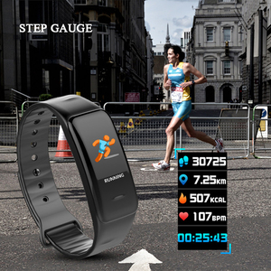 Image 3 - Health Bracelet Heart Rate Monitor Blood Pressure Measurement Smart Band Fitness Tracker Wristband for iPhone xiaomi pk fitbits