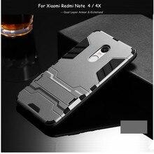 Dual Layer Armor Case For Xiaomi Redmi Note 4x