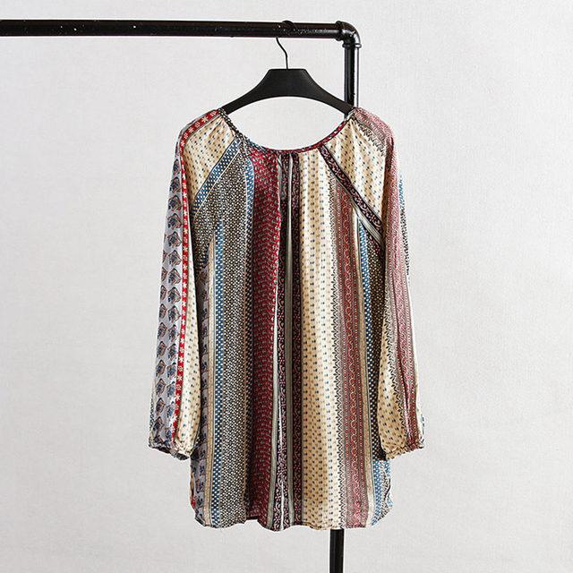 Plus Size 2016 Novas Mulheres Da Moda Verão Mulheres Camisetas Mulher Roupas Casuais Mulheres Soltas Encabeça print Floral Senhora Encabeça D561