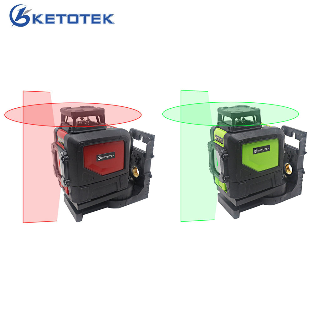 KT901C 5 Lines Laser Level Horizontal Vertical 630-670nm IP54 Manual Self-Leveling Full Time & Outdoor Pulse ModeKT901C 5 Lines Laser Level Horizontal Vertical 630-670nm IP54 Manual Self-Leveling Full Time & Outdoor Pulse Mode