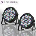 2 шт./лот LED Par Can 54x3 W RGBW цвет полный цвет с 8 каналами света для DJ освещения