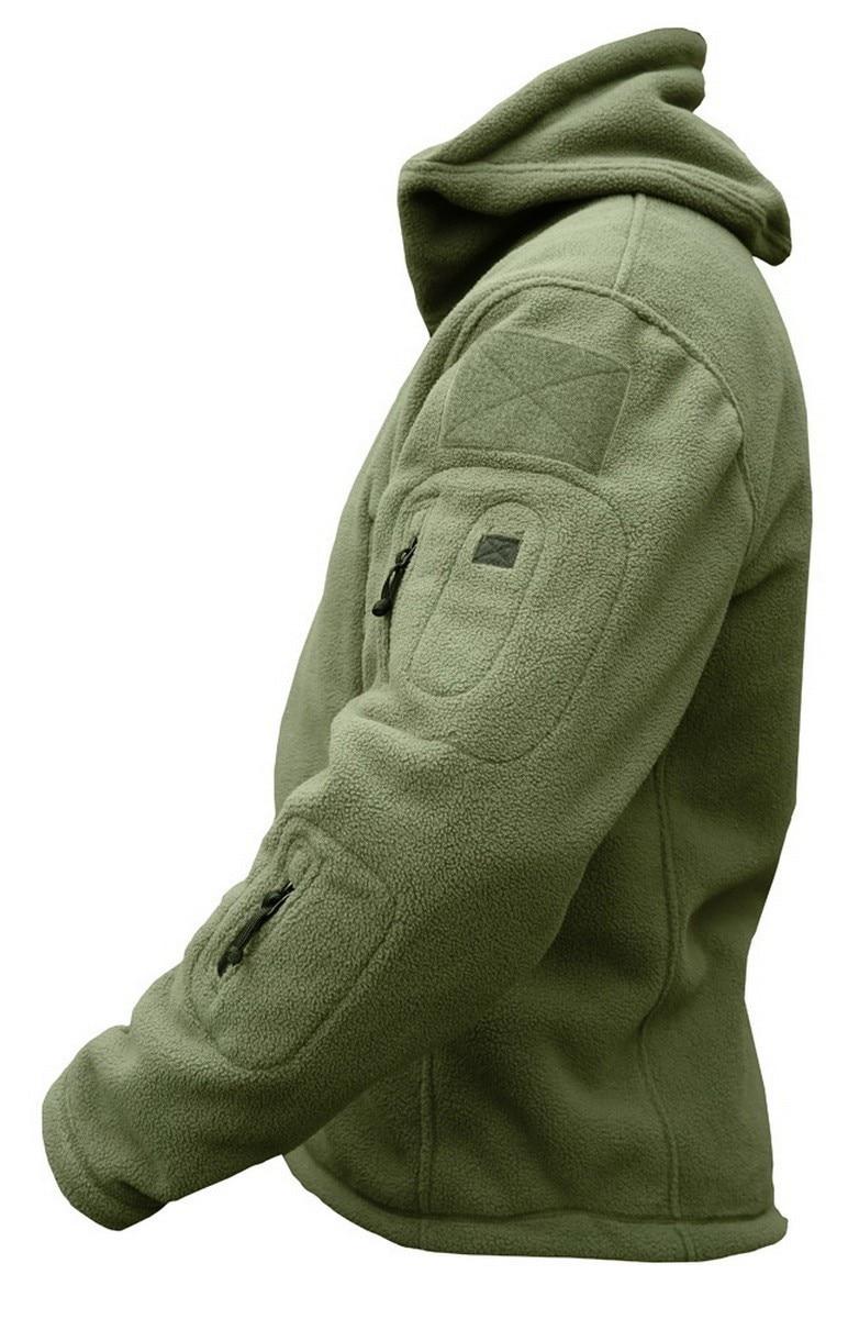 HTB1O.V9wrsrBKNjSZFpq6AXhFXaP Military Man Fleece Tactical Softshell Jacket Polartec Thermal Polar Hooded Outerwear Coat Army Clothes
