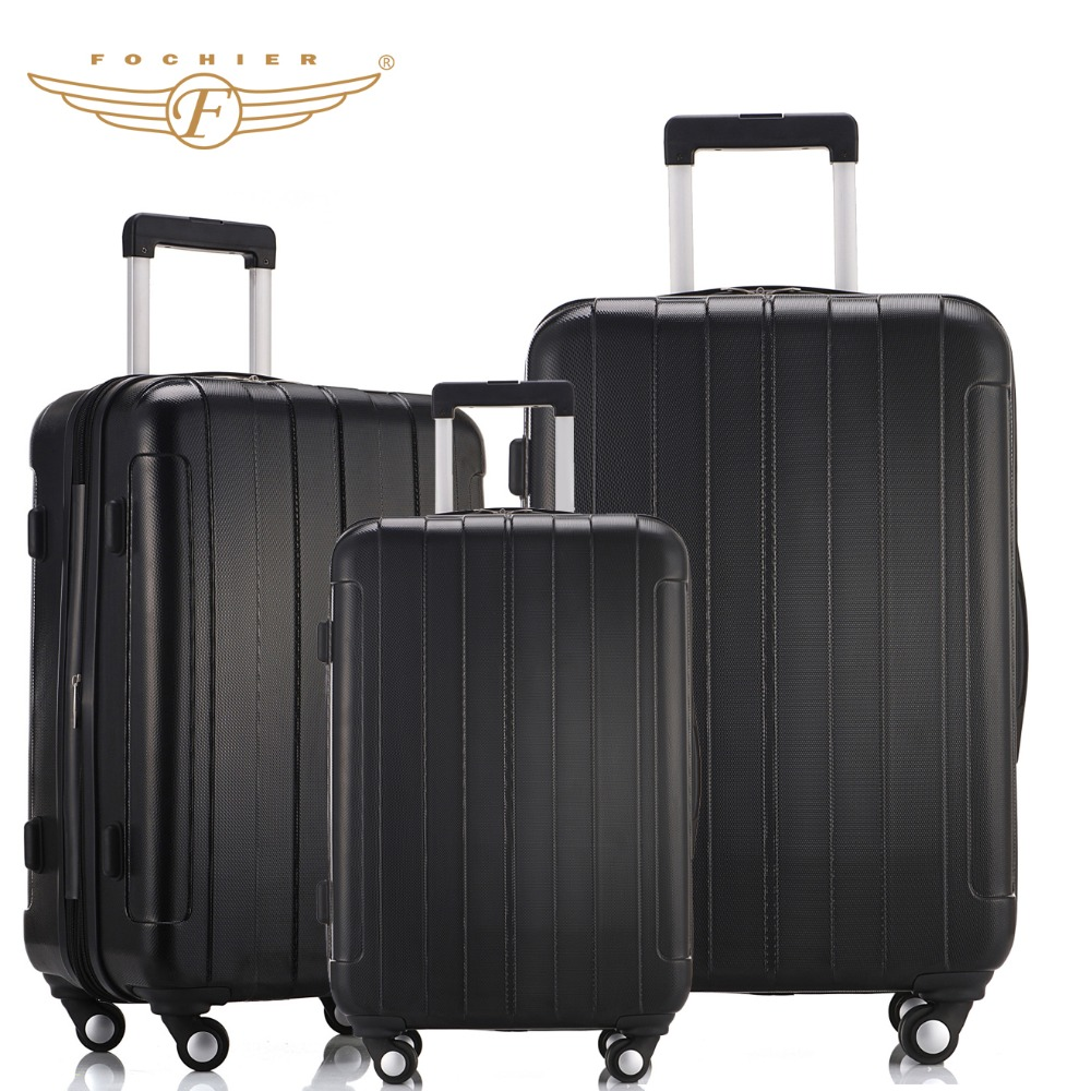 Popular Luggage Black-Buy Cheap Luggage Black lots from China ...