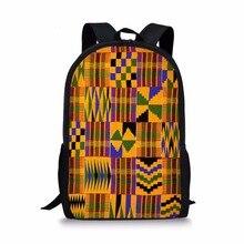 Dashiki Design Kids School Bag For Boys Teen Girls African P