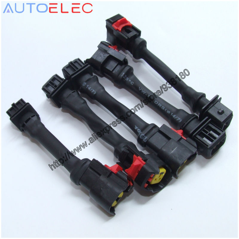 US $250 0 |100Pcs LS1 LS6 LT1 EV1 Engine Wire Harness to LS2 LS3 LS7 EV6  Automotive Injector Adapters LSX for PontiacImpala Firebird Camaro-in  Wiring