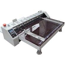 Электрическая машина для сгибания бумаги высокоскоростная машина для сгибания бумаги линия для спрессования рисовой лапши однометочная офсетная машина для резки 220 В