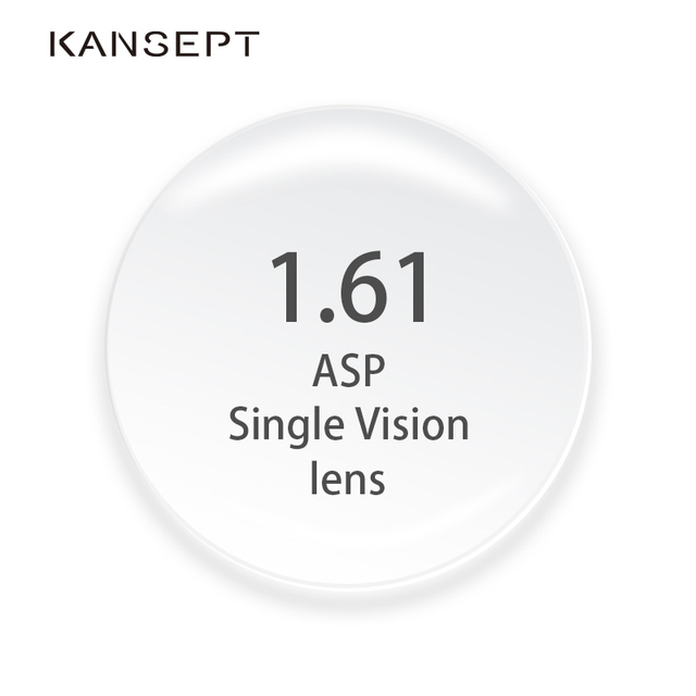 KANSEPT lunettes de Prescription, Index 1.61, résine, CR 39, verres asphériques, pour la myopie/hypermétropie/presbytie