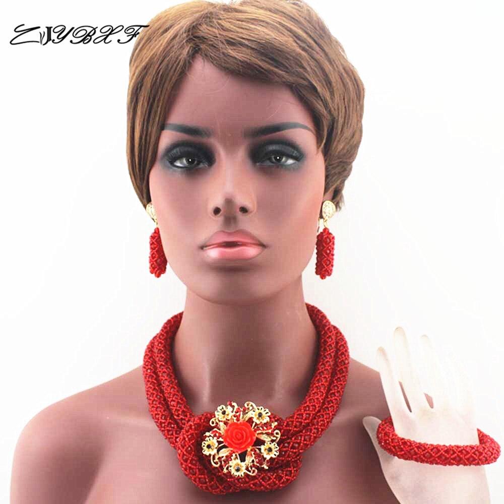 ჱGrandes chunky mujeres regalo joyería Africana conjunto nigeriano ...