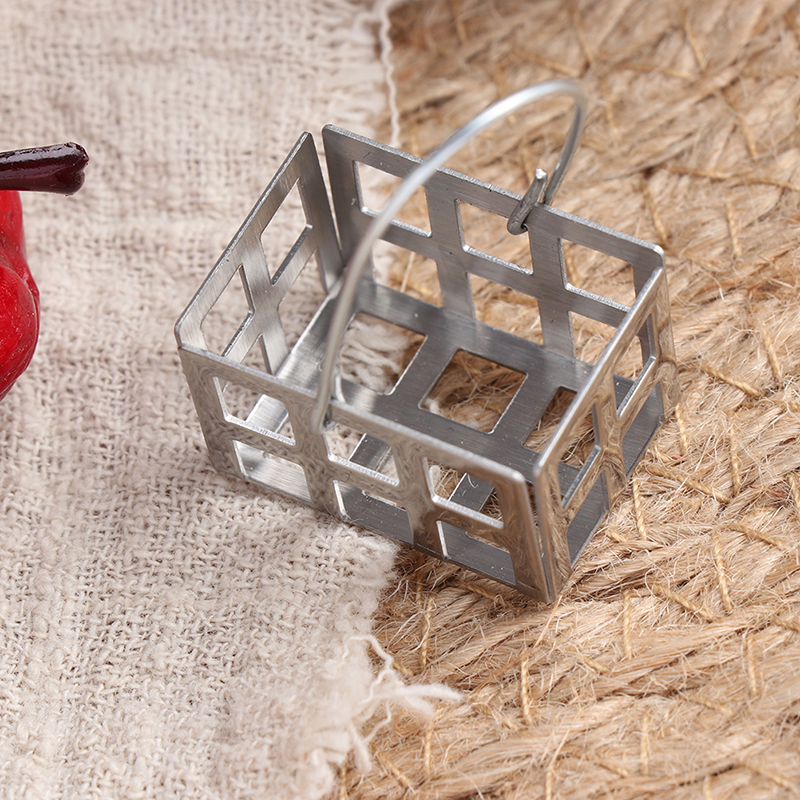 1//12 Dollhouse Furnitures Miniatures Metal egg Baskets Doll House KitchensP xz