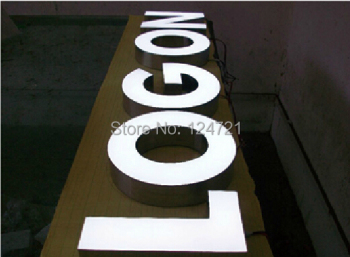 Illuminated Letters Font ,Custom Light Box Letters ,3d Backlit Sign Advertising display