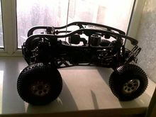 Frame ,roll cage ,RC Protective cover Nylon production For HPI Savage 5.9 XL Methanol vehicle contain wheelie bar