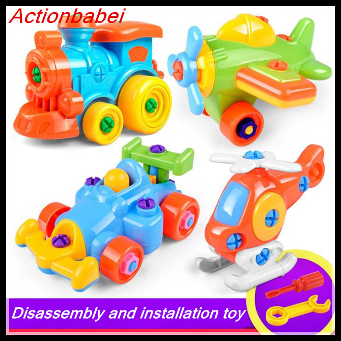 Boys Christmas Presents 2019.Us 6 92 2019 New Christmas Gift Kids Baby Boys Girls Disassembly Assembly Classic Car Toys Funny Educational Toys For Children Boys In Model