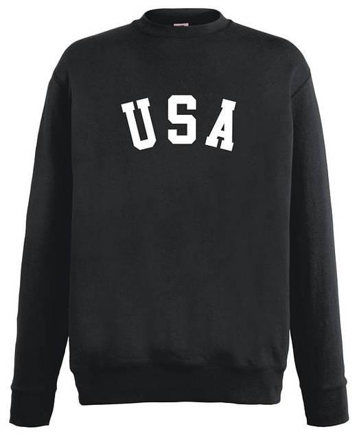 b8701d2113 EUA Estados Unidos Da Camisola jumper de Camisola roupa Americano Do Tumblr  tumblr Crewneck Camisola moletons