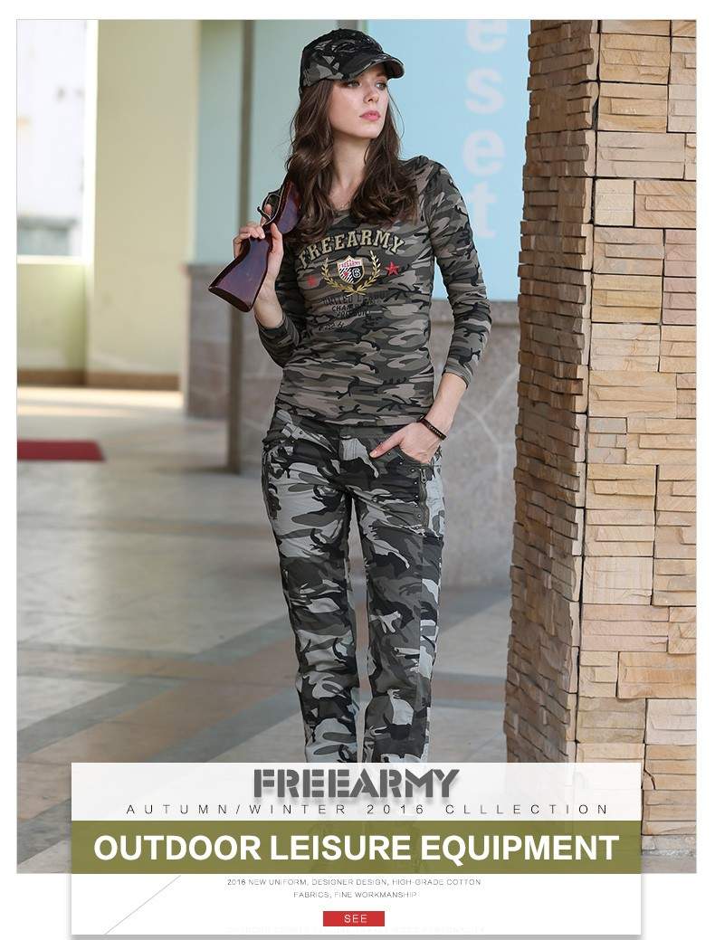 219f4e30e42 Women Casual Pants Summer Plus Size Jogger Pants Military Camouflage Army  Green Women Pants Slim Fit Female Cotton Elegant Capris. GK-9522B 01