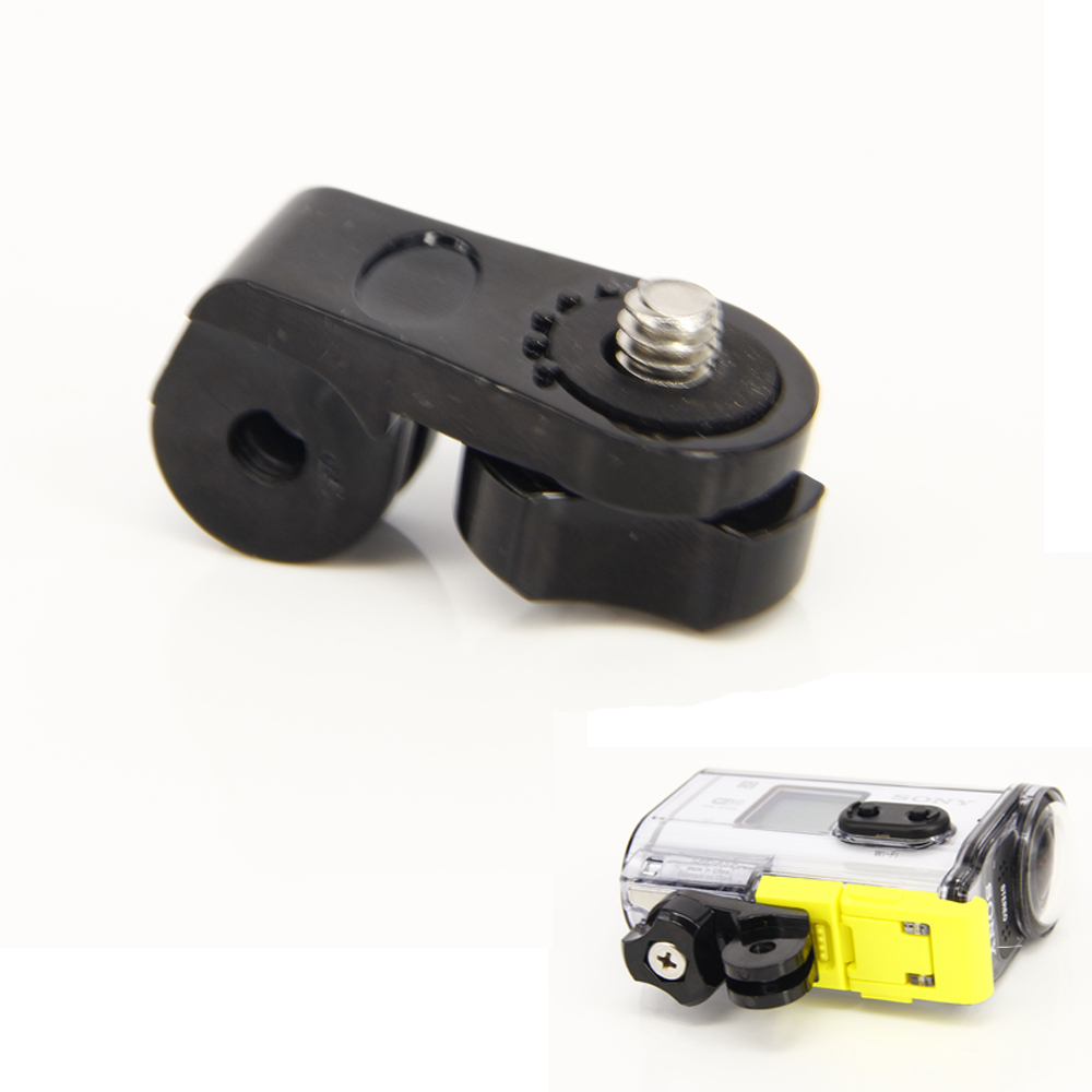 Camera Bridge Adapter for Gopro Mounts 1/4 inch Screw Hole for <font><b>Sony</b></font> Mini Cam Action Camera HDR AS20 <font><b>AS30V</b></font> AS15V AS200V AS300 image
