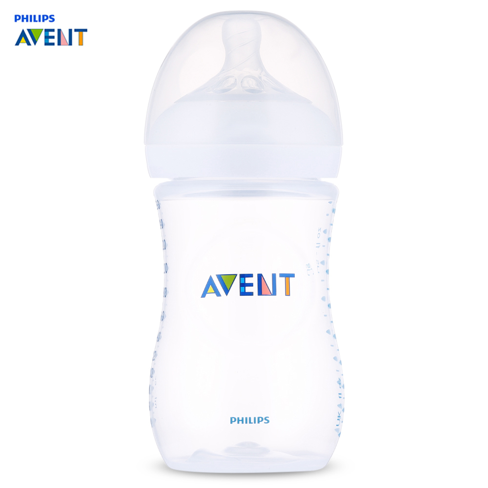 Philips Avent 9oz/260ml Wide Mouth Anti Colic Baby Bottle Feeding For 1 3 Months Mamadeira Feeding Cup Infant Garrafa Nursing