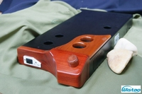 DIY Tube Amplifier Casing With Luxury Pear Wood Metal Plate Reservations EXcluding Transformer Covers Cushions European