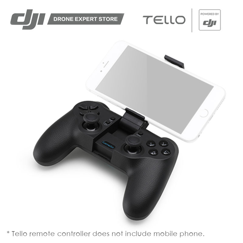 DJI Tello Drone Remote Controller GameSir T1d Controller Bluetooth Connecting to ios7.0+ Android 4.0+ Mobile Phone шторы реалтекс классические шторы alexandria цвет венге молочный венге