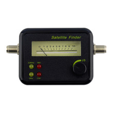 Digital Satellite Signal Finder LCD Display