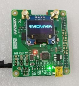 Image 3 - 완성 된 2019 V1.3 MMDVM_HS_Dual_Hat 듀플렉스 핫스팟 + 라즈베리 파이 제로 W + OLED + 안테나 + 16G SD 카드 + 금속 케이스