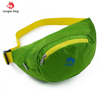 JUNGLE KING Outdoor Running Bags Climbing Pockets Can Be Folded 5 Color Nylon Waterproof Sports Fishing