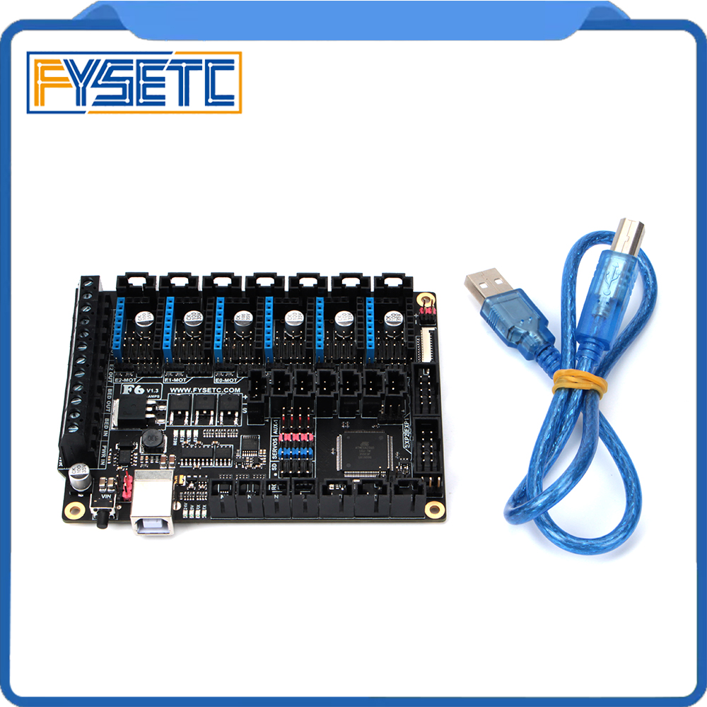 Image 3 - FYSETC F6 Board ALL in one Electronics For 3D Printer CNC Devices Up to 6 Motor Drivers With easy Micro steps VS SKR V1.3-in 3D Printer Parts & Accessories from Computer & Office