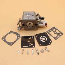 цена на Carburetor Carb Kit Fit HUSQVARNA 340 345 346 350 351 353 Chainsaw Zama C3-EL18B / RB-122