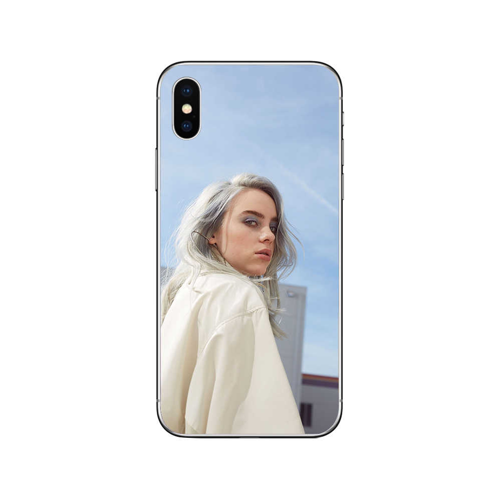 ciciber Billie Eilish Phone Cases For Iphone 11 Case for iphone XR 7 11 Pro X XS MAX 8 6 6S Plus 5S SE Soft TPU Cover Funda Capa