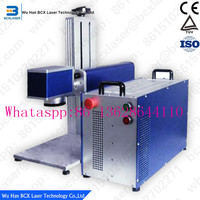 big power high speed 100W fiber laser marking machine for metal