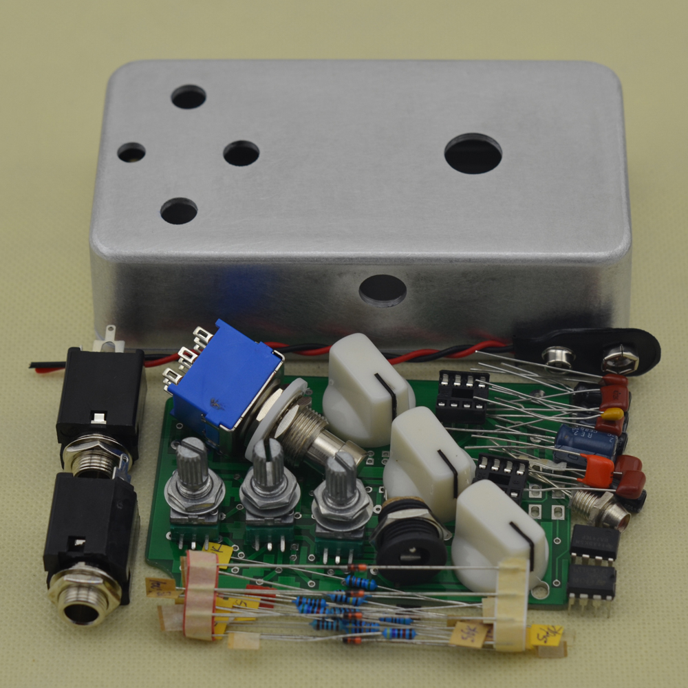 buy ttone diy fuzz distortion pedal guitarra electic effect guitar pedal parts. Black Bedroom Furniture Sets. Home Design Ideas
