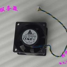 DELTA 6 см 60 мм 60*60*38 мм 6038 12 В 1.68A супер яростные ветры поддержки PWM вентилятор PFC0612DE