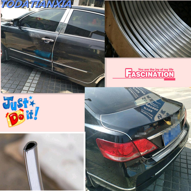 car air conditioner outlet vent strip cover stickers for w5w h4 h7