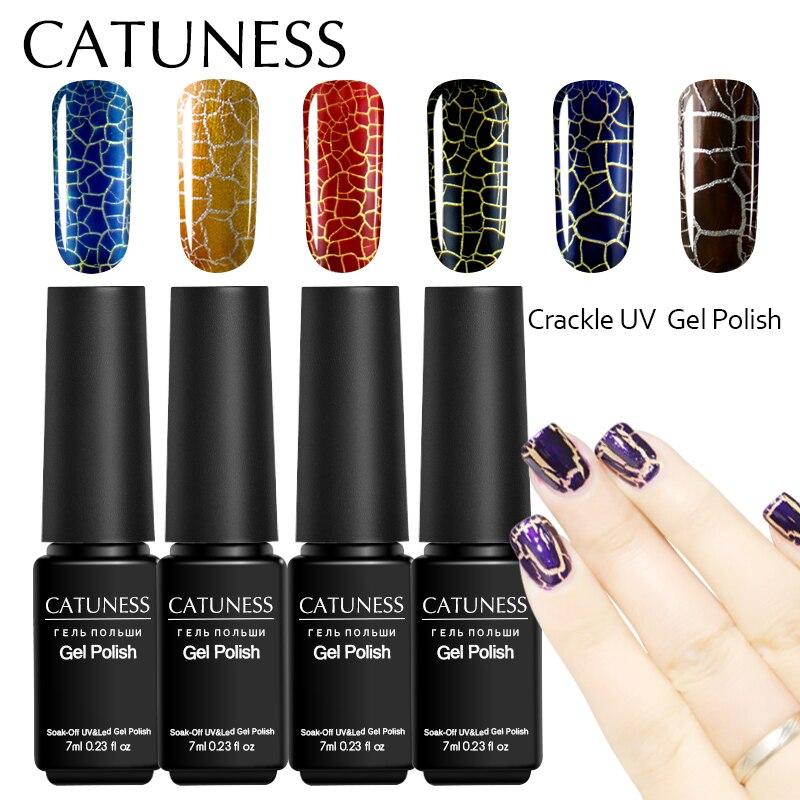 CATUNESS Popular Products Gel Nail Polish Elegant Cracking