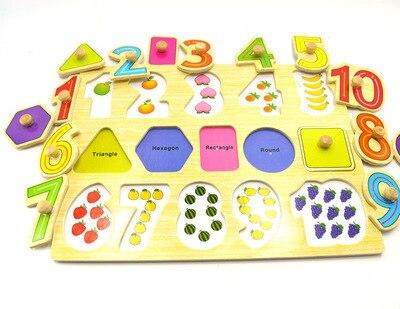 Postagem isento, quebra-cabeças digitais, quebra-cabeças de animais, brinquedos educativos de madeira enigma de madeira do brinquedo da criança brinquedo do bebê brinquedos educativos
