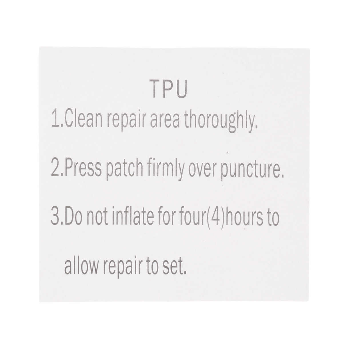 10Pcs Tenacious Tape Clear Flex Patches TPU Tent Tape Outdoor Gear Patch  for Vinyl and Fabric Repair