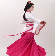 Winter  Womens Hanfu Dresses TV Moive Stage dance Outfit China hanfu stage clothing costume Traditional Dance Chinese Costume