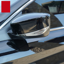 lsrtw2017 stainless steel car rearview trims for honda accord 2008 2009 2010 2011 2012 2013 2014 2015 2016 2017