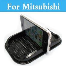 Anti Slip Mat GPS Phone Holder Non-Slip Mat Pad For Mitsubishi Mirage Montero Montero Sport Outlander Pajero Mini RVR Space Star
